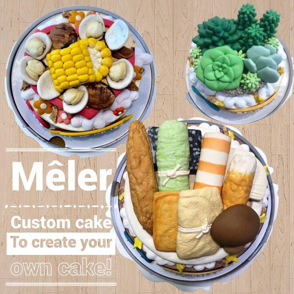 客製化餅乾造型蛋糕-生日蛋糕 | 米爾利甜點創作 Meler Patisserie