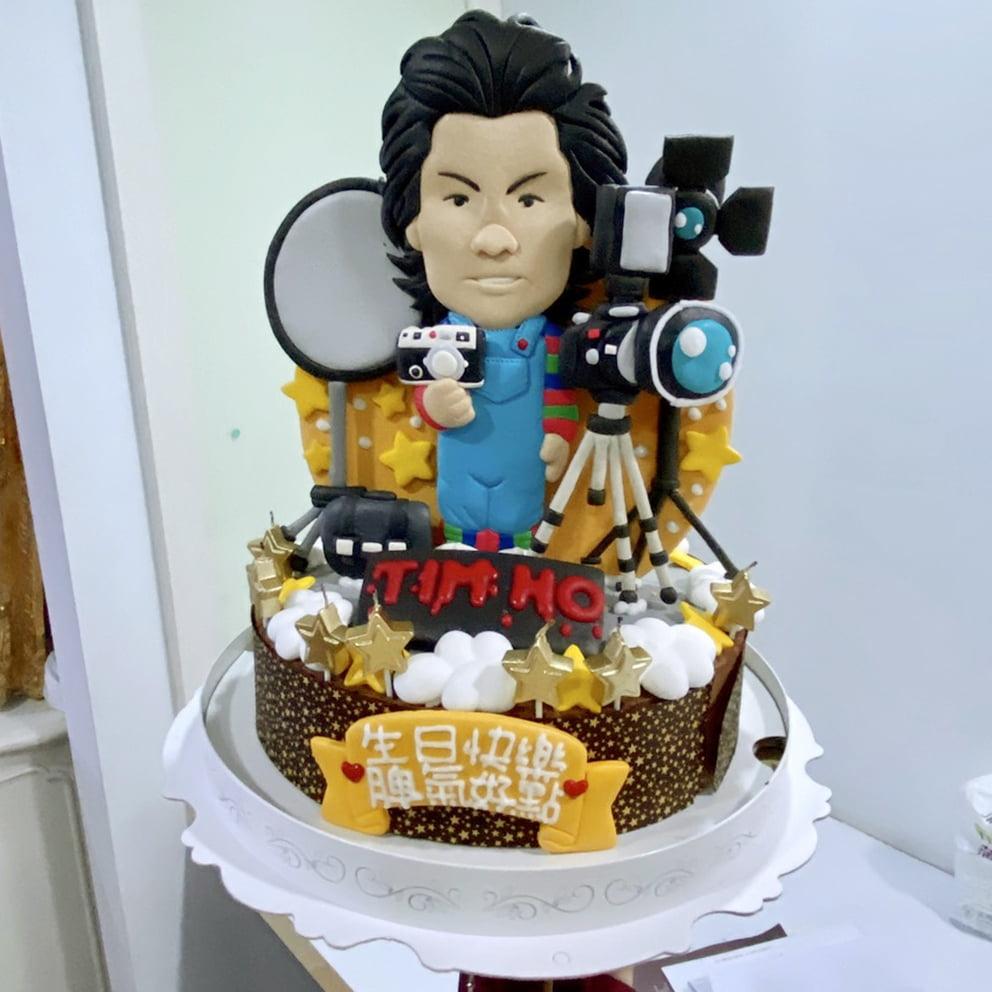 直立人像造型蛋糕-客製化生日蛋糕 | 米爾利甜點創作 Meler Patisserie