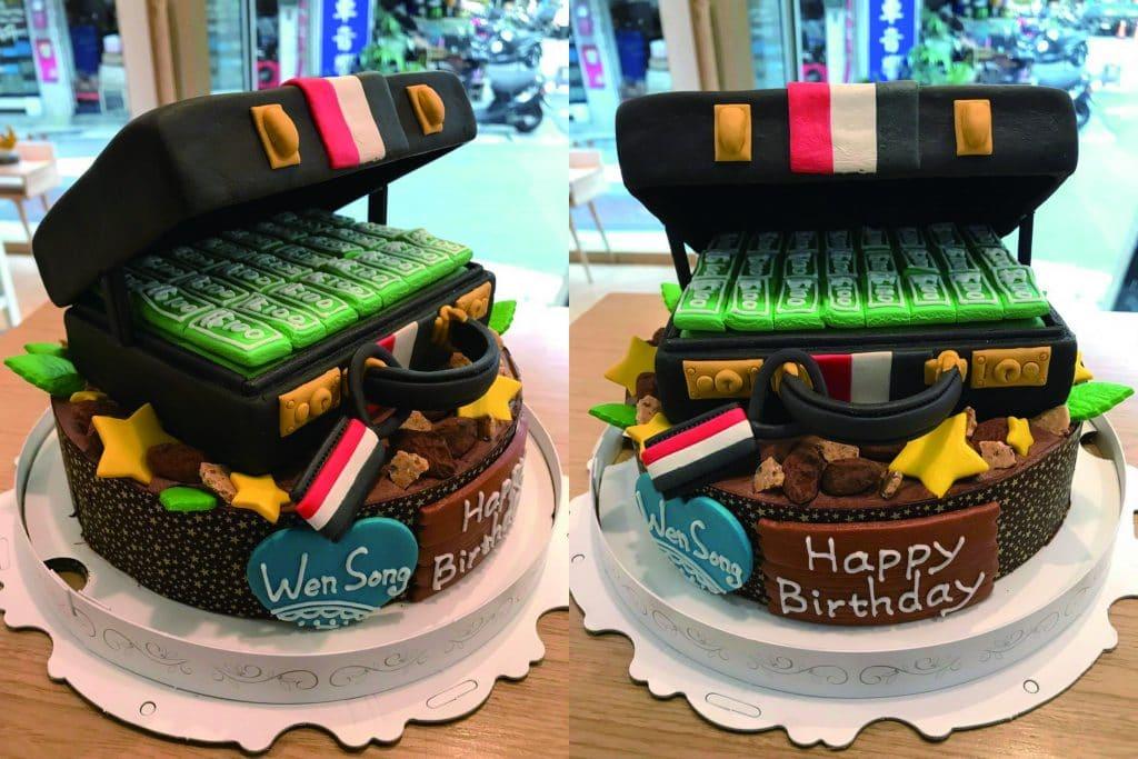 父親節造型蛋糕-客製化生日蛋糕   米爾利甜點創作 Meler Patisserie