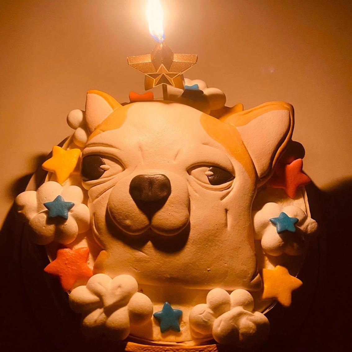 客戶好評推薦-客製化生日整人蛋糕|米爾利甜點創作 Meler Patisserie