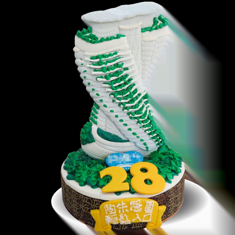 陶朱隱園-直立式建築造型蛋糕-客製化蛋糕|米爾利甜點創作 Meler Patisserie