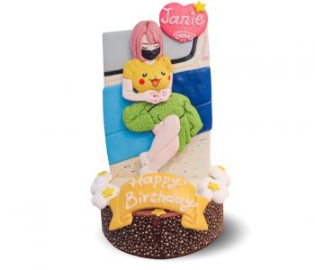 客戶好評-客製化恐龍造型生日蛋糕|米爾利甜點創作 Meler Patisserie